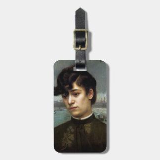 Felix Vallotton - Portrait of Juliette Lacour Tags For Luggage
