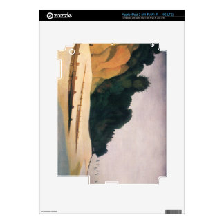 Felix Vallotton - Shore scene with tree silhouette Skin For iPad 3