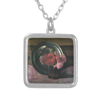 Felix Vallotton - Still Life with Roses Personalized Necklace