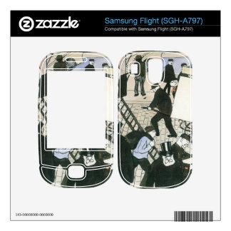 Felix Vallotton - Street scene Decals For Samsung Flight