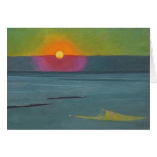 Félix Vallotton Sunset CC0608 Greeting Card