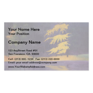 Felix Vallotton - The Lake in the Bois de Boulogne Double-Sided Standard Business Cards (Pack Of 100)