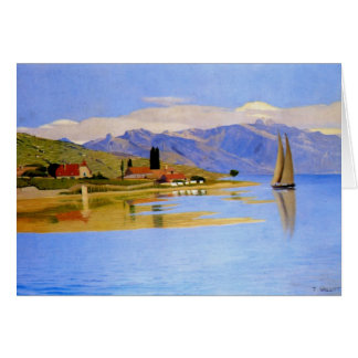 Felix Vallotton - The Port of Pully Greeting Card
