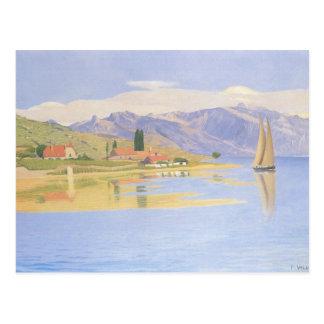 Felix Vallotton - The port of Pully Postcard