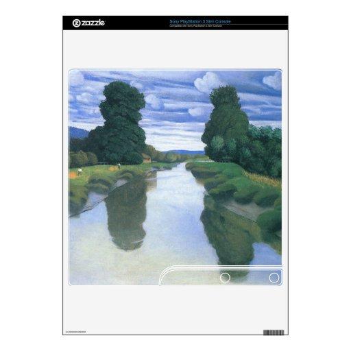 Felix Vallotton - The River at Berville PS3 Slim Skin