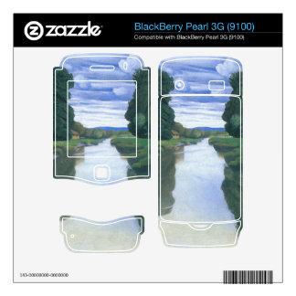 Felix Vallotton - The River at Berville BlackBerry Decals