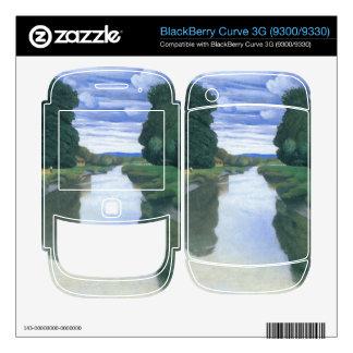 Felix Vallotton - The River at Berville BlackBerry Skins