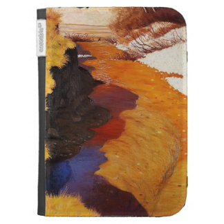 Felix Vallotton - View of Cagne from Horseback Kindle 3 Case