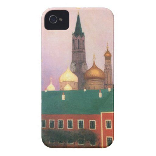 Felix Vallotton - View of the Kremlin in Moscow Blackberry Bold Case
