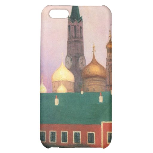 Felix Vallotton - View of the Kremlin in Moscow Case For iPhone 5C
