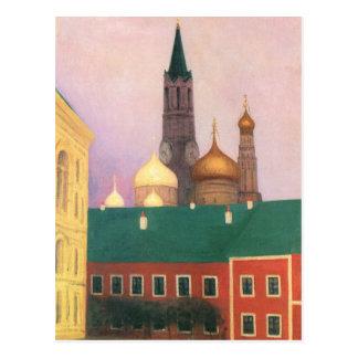 Felix Vallotton - View of the Kremlin in Moscow Postcard