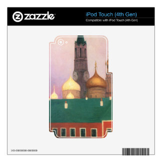 Felix Vallotton - View of the Kremlin in Moscow iPod Touch 4G Skins