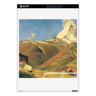 Felix Vallotton - View of Zermatt Decal For The PS3 Slim
