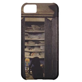 Felix Vallotton - Woman Searching through Cupboard iPhone 5C Case