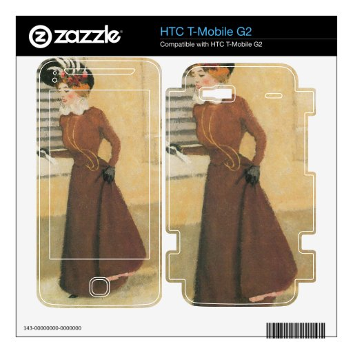 Felix Vallotton - Woman with hat Skins For HTC T-Mobile G2