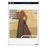 Felix Vallotton - Woman with hat Decals For The PS3 Slim