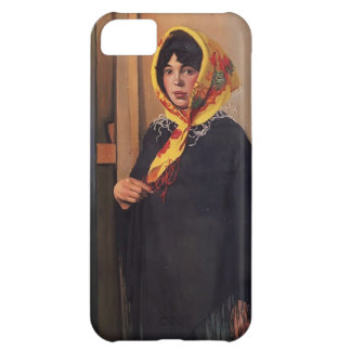 Felix Vallotton - Young Woman with Yellow Scarf iPhone 5C Covers