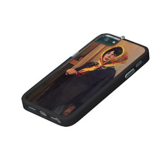 Felix Vallotton - Young Woman with Yellow Scarf iPhone 5 Covers