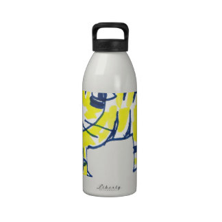 Felixicio, the world's most stupid cat reusable water bottles