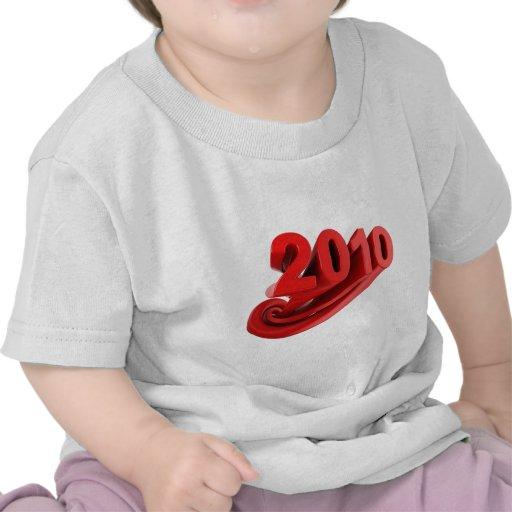Feliz 2010 camisetas