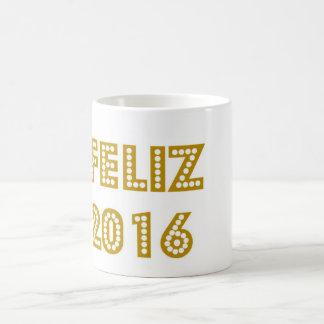 Feliz 2016 coffee mug