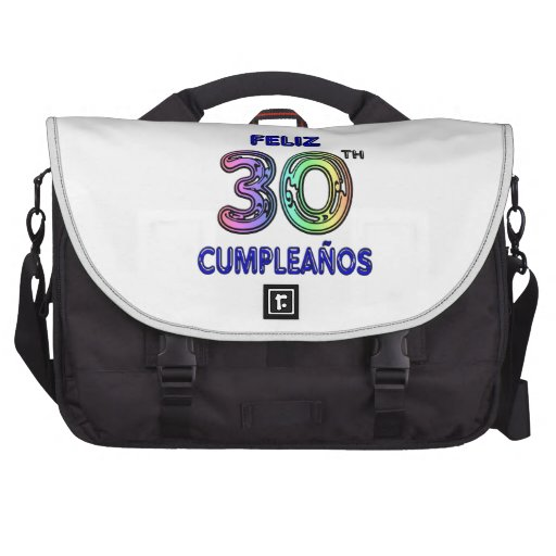 Feliz 30th Cumpleaños Bag For Laptop