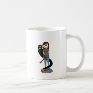 Feliz ahora taza de café