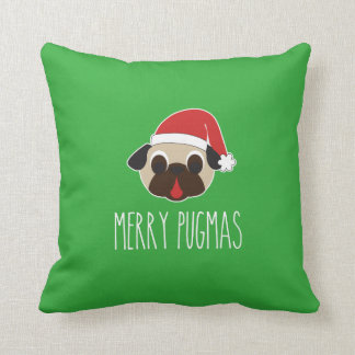 Feliz almohada del navidad de Pugmas