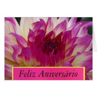 Feliz Aniversário - La Dalia Púrpura Card