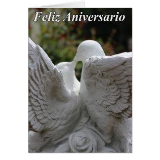 Feliz Anniversario #2 Tarjeta De Felicitación