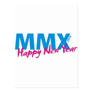 Feliz Año Nuevo 2010 (MMX) Postal