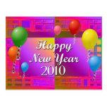 Feliz Año Nuevo 2010 Postal