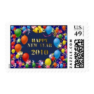 Feliz Año Nuevo 2010 Sellos