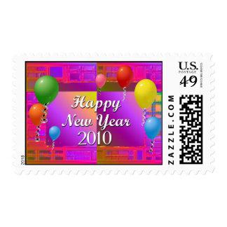 Feliz Año Nuevo 2010 Franqueo