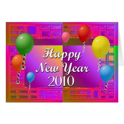 Feliz Año Nuevo 2010 Tarjeta De Felicitación