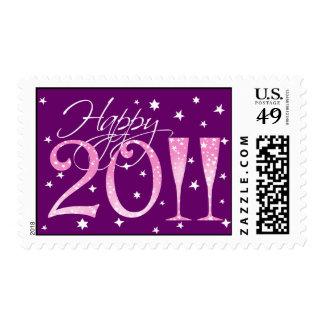 Feliz Año Nuevo 2011 Sellos