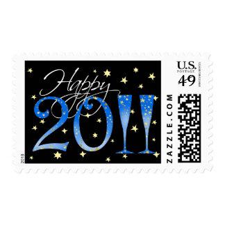 Feliz Año Nuevo 2011 Sellos Postales