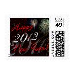 Feliz Año Nuevo 2012 - sellos del día de fiesta