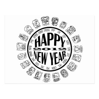 Feliz Año Nuevo 2012 Tarjetas Postales