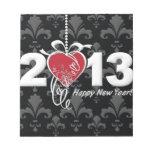 Feliz Año Nuevo 2013 Bloc De Papel