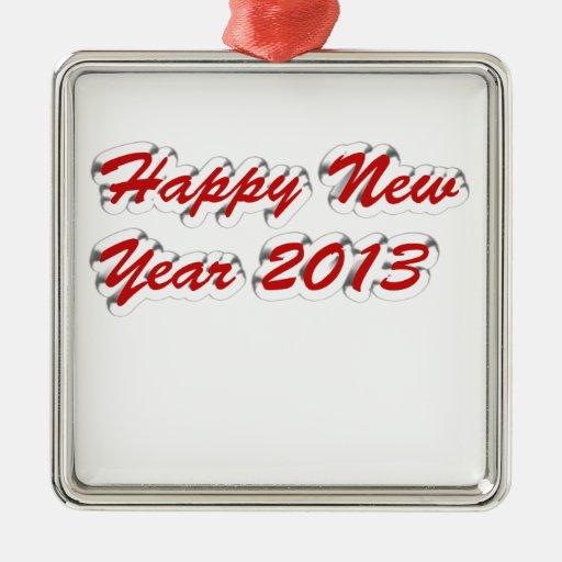 Feliz Año Nuevo 2013 Ornamento Para Arbol De Navidad