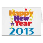 Feliz Año Nuevo 2013 Felicitacion