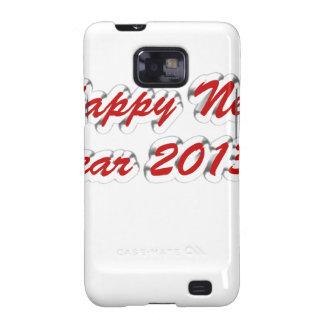 Feliz Año Nuevo 2013 Samsung Galaxy S2 Fundas