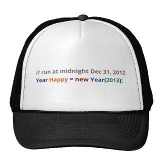 Feliz Año Nuevo 2013 Gorra