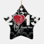 Feliz Año Nuevo 2013 Ornamentos De Reyes