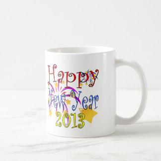 Feliz Año Nuevo 2013 Taza