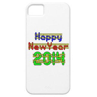 Feliz Año Nuevo 2014 iPhone 5 Carcasas