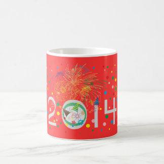 Feliz Año Nuevo 2014 Taza De Café