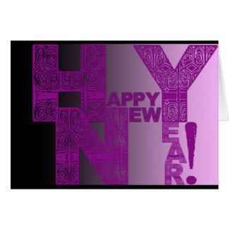 Feliz Año Nuevo 2017 Tarjeta De Felicitación
