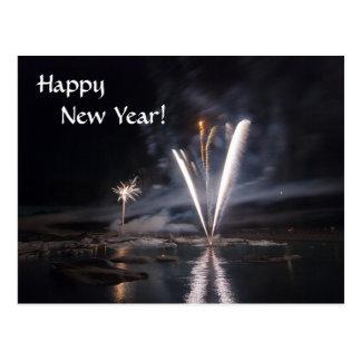 Feliz Año Nuevo 3 Tarjetas Postales